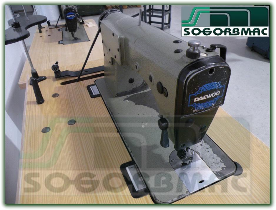 Maquina de coser ó Aparar de Columna Daewoo. Sogorbmac vende maquinaria  para calzado ... b1fd49689977