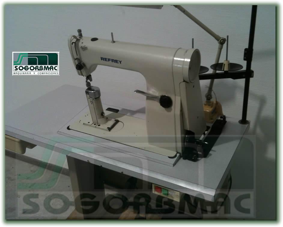 Maquina de coser ó Aparar de Columna Refrey 901. Sogorbmac vende maquinaria  para calzado ... 47b86c3aa869